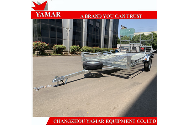 Hot Dipped Galvanized ATV Trailer