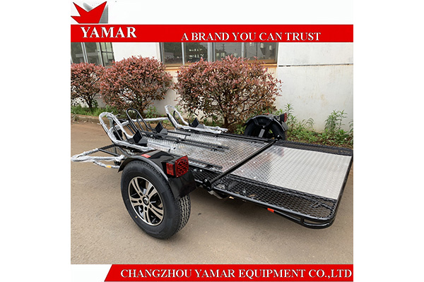 3 Rail Motorcycle Trailer
