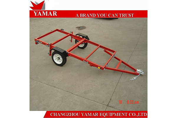 4x8 heavy duty utility folding trailer