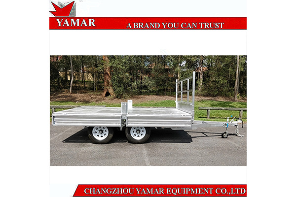 16x8 ATM3500KG Flat Top Bed Trailer