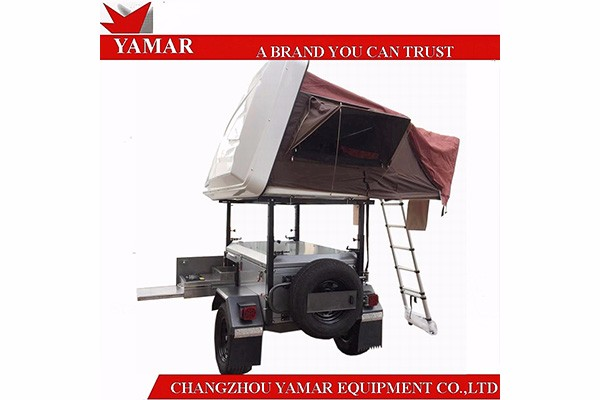 Hard Shell Roof Top Tent Camper Trailer